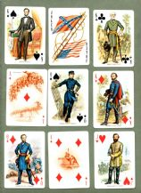 Collectible playing cards American civil war, Abe Lincoln and more
